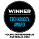 Technology award winner - young entrepreneur Australia