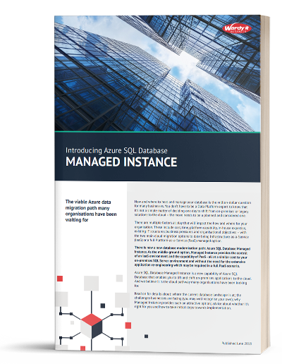 An introduction to Azure Managed Instance
